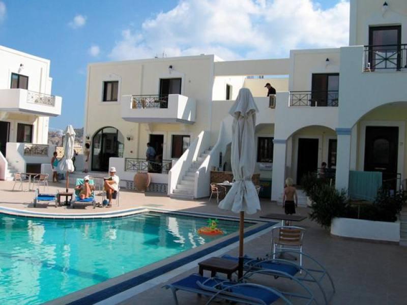 Appartementen Zephyros Village - Pigadia - Karpathos