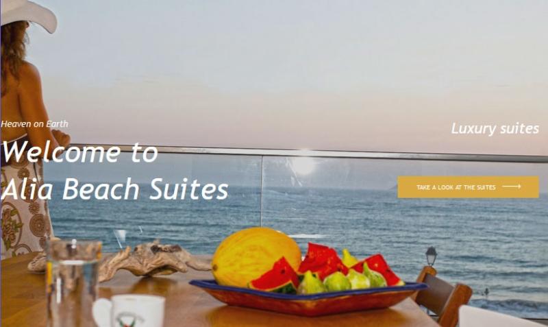 Alia Beach suites - Kokkinos Pirgos - Heraklion Kreta