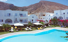 Santorini Kastelli Resort in Kamari