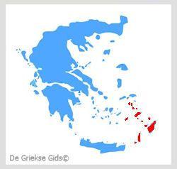 Waar liggen de Dodecanese? - De Griekse eilanden