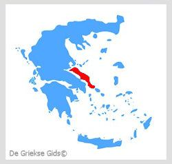 Waar ligt Evia? - De Griekse eilanden