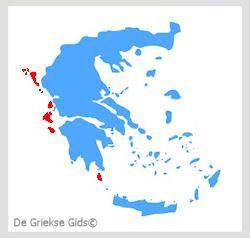 Waar liggen de Ionische eilanden? - De Griekse eilanden