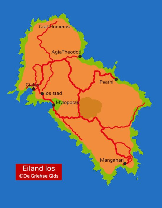 Kaart Landkaart Ios