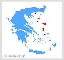 Waar liggen de Noord-Egeische eilanden? - De Griekse eilanden