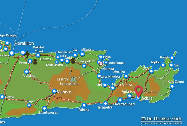 Uitstapjes / Trips vanaf Achlia