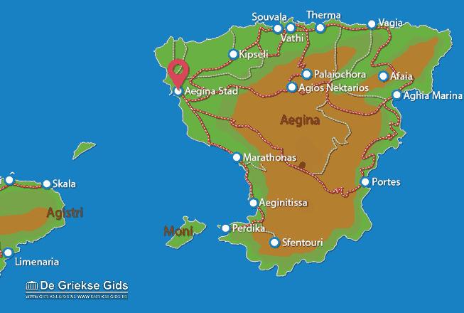 Uitstapjes / Trips vanaf Aegina stad