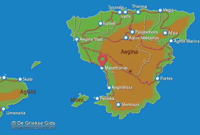 Uitstapjes / Trips vanaf Aeginitissa