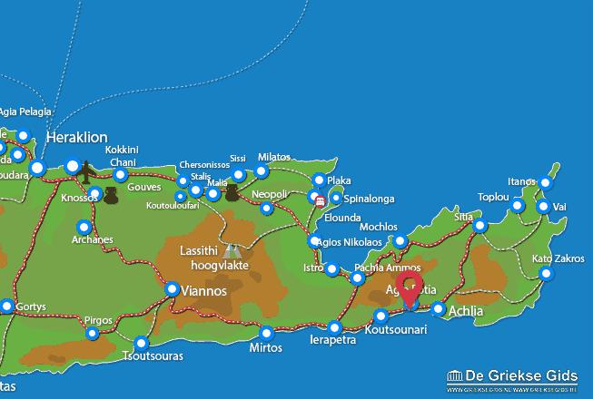 Uitstapjes / Trips vanaf Agia Fotia