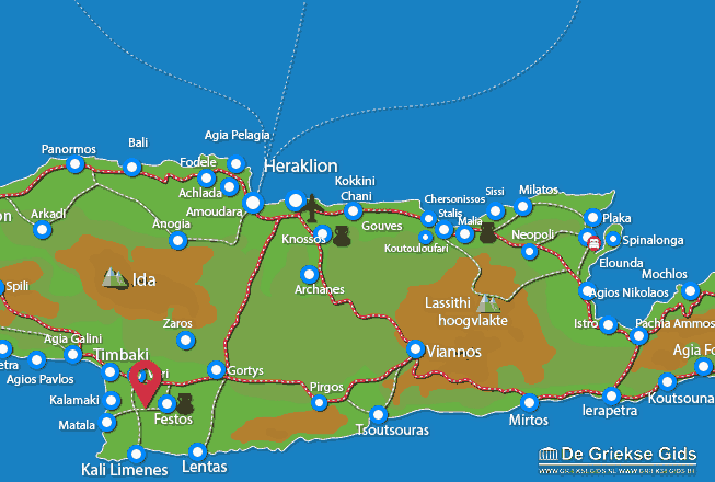 Uitstapjes / Trips vanaf Agia Trias