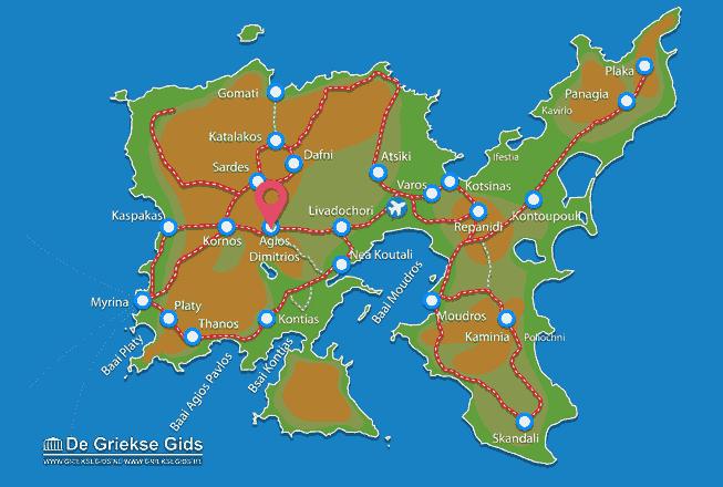 Uitstapjes / Trips vanaf Agios Dimitrios