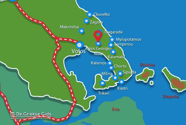 Uitstapjes / Trips vanaf Agios Georgios Nilias Pilion