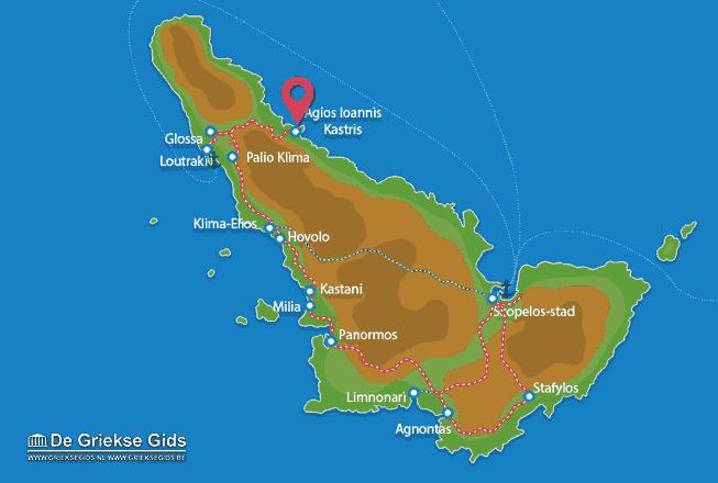 Uitstapjes / Trips vanaf Agios Ioannis Kastri