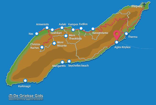 Uitstapjes / Trips vanaf Agios Kirykos