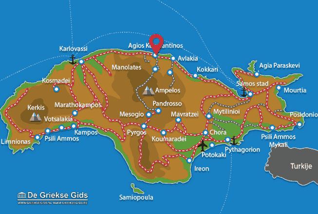 Uitstapjes / Trips vanaf Agios Konstandinos