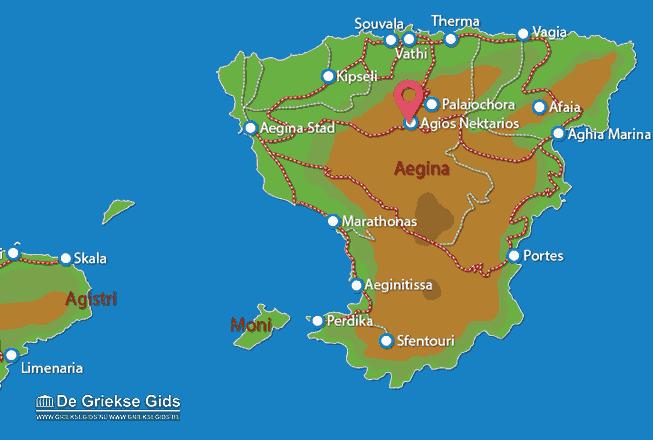 Uitstapjes / Trips vanaf Agios Nektarios