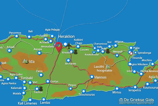 Uitstapjes / Trips vanaf Agios Thomas