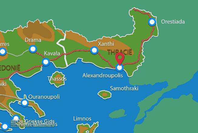 Uitstapjes / Trips vanaf Alexandroupolis