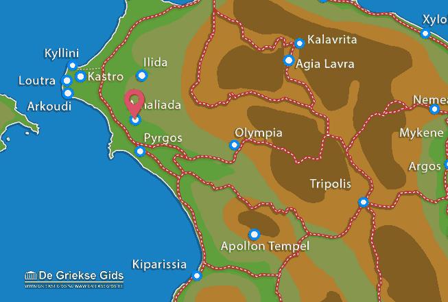 Uitstapjes / Trips vanaf Amaliada