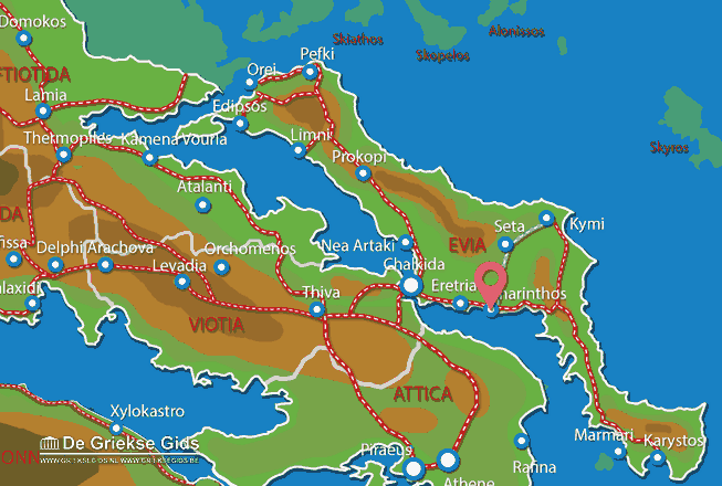 Uitstapjes / Trips vanaf Amarynthos