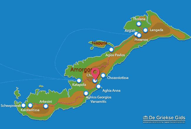 Uitstapjes / Trips vanaf Amorgos stad