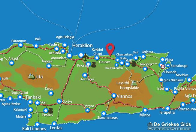 Uitstapjes / Trips vanaf Anissaras