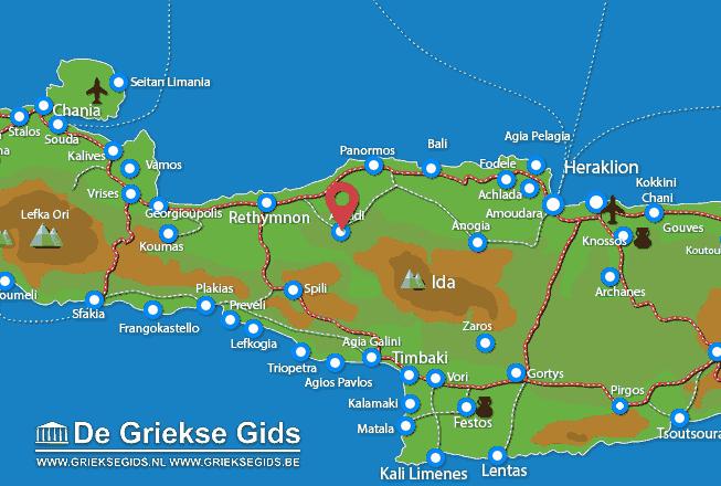 Uitstapjes / Trips vanaf Arkadi