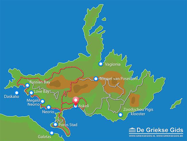 Uitstapjes / Trips vanaf Askeli