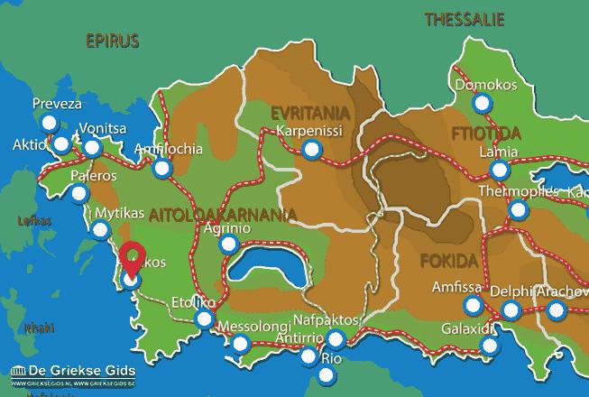 Uitstapjes / Trips vanaf Astakos