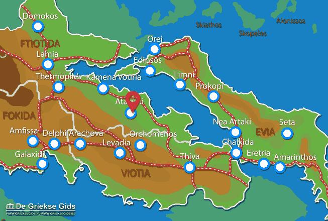 Uitstapjes / Trips vanaf Atalanti