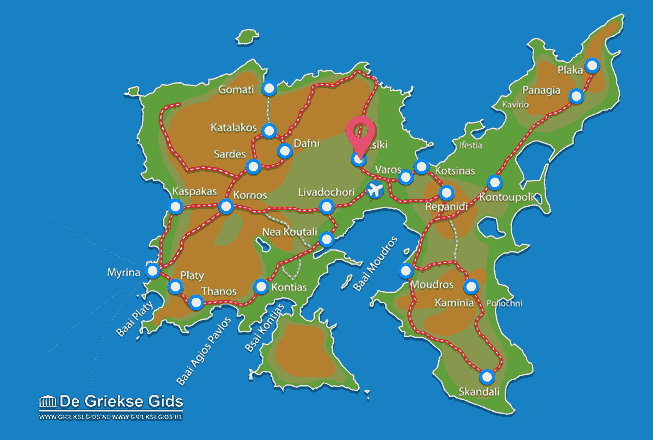 Uitstapjes / Trips vanaf Atsiki