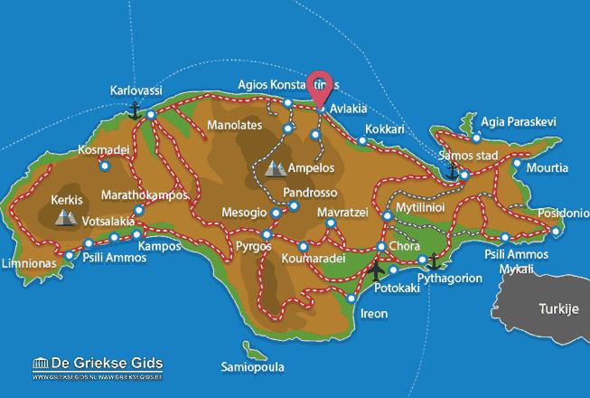 Uitstapjes / Trips vanaf Avlakia