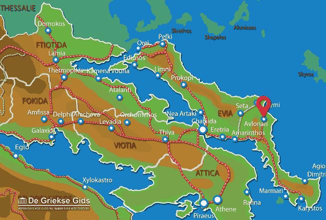 Uitstapjes / Trips vanaf Avlonari