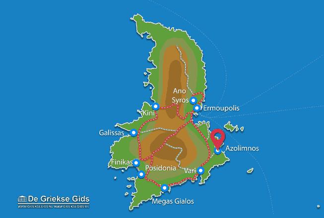 Uitstapjes / Trips vanaf Azolimnos