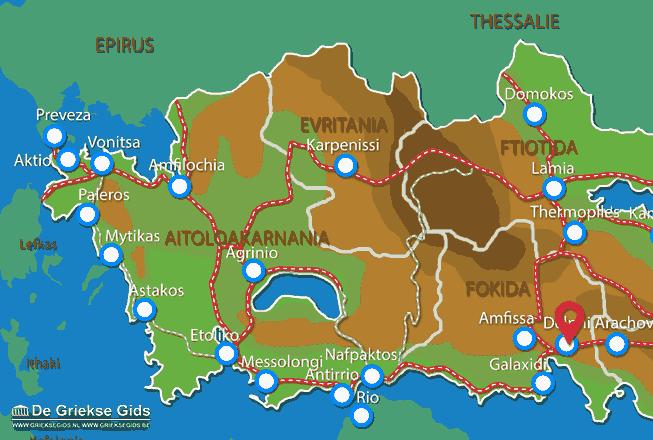 Uitstapjes / Trips vanaf Delphi
