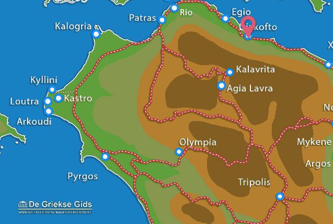 Uitstapjes / Trips vanaf Diakofto