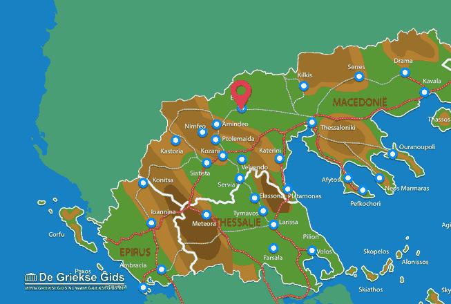 Uitstapjes / Trips vanaf Edessa