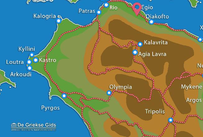 Uitstapjes / Trips vanaf Egio