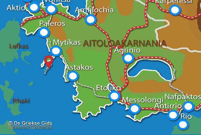 Uitstapjes / Trips vanaf Kastos (eiland)