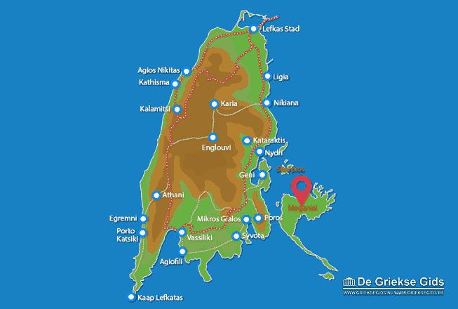 Uitstapjes / Trips vanaf Meganisi (eiland)