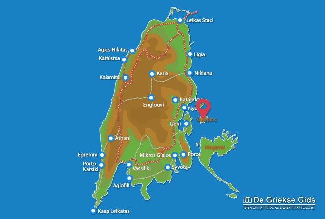 Uitstapjes / Trips vanaf Skorpios (Eiland)