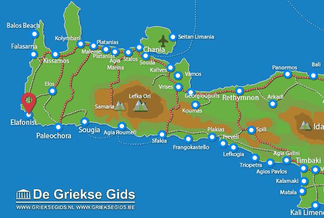 Uitstapjes / Trips vanaf Elafonisi