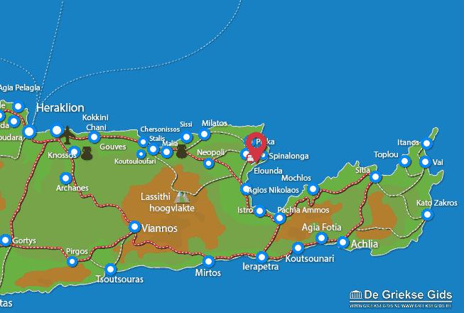 Uitstapjes / Trips vanaf Elounda