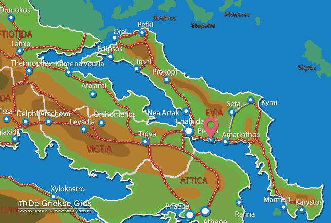 Uitstapjes / Trips vanaf Eretria
