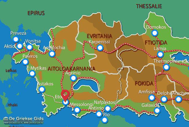 Uitstapjes / Trips vanaf Etoliko