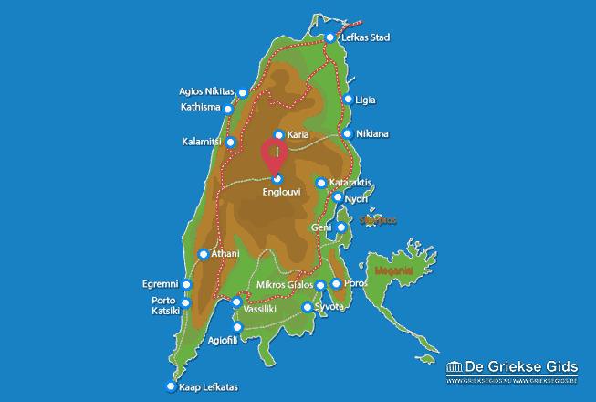 Uitstapjes / Trips vanaf Film eilandjes bij Lefkas