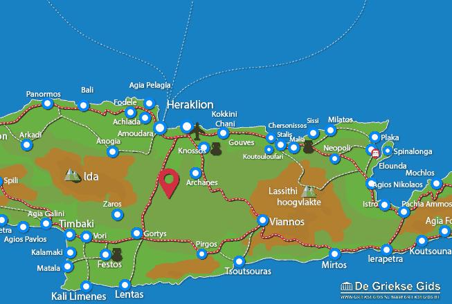 Uitstapjes / Trips vanaf Film Heraklion Kreta