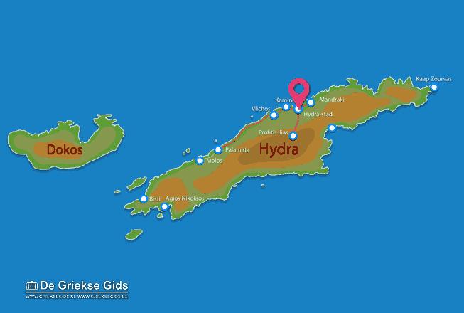 Uitstapjes / Trips vanaf Vakantiefilm Hydra
