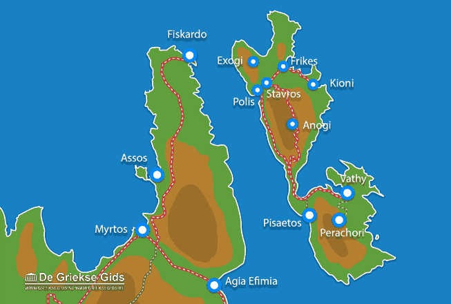 Uitstapjes / Trips vanaf Vakantiefilm Ithaki