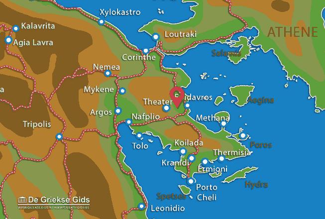 Uitstapjes / Trips vanaf Film Noord Peloponnesos