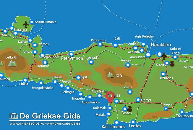 Uitstapjes / Trips vanaf Film Zuid-Kreta